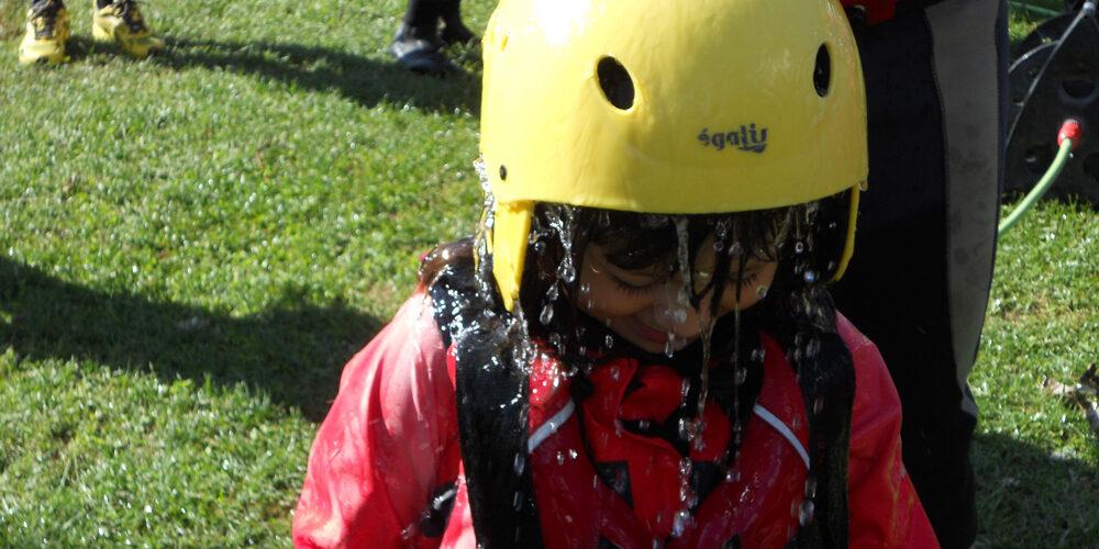 rafting per bambini in umbria