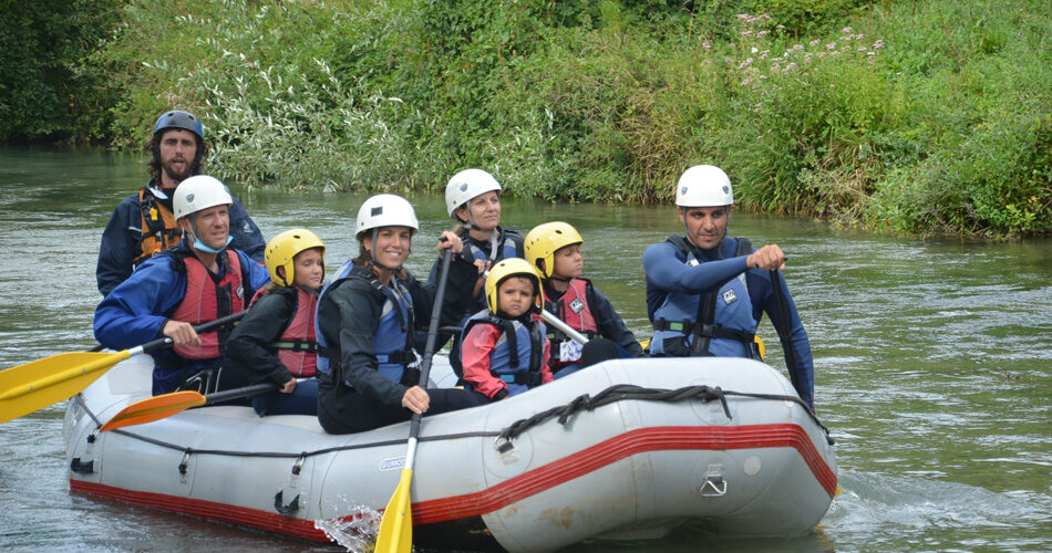 Rafting classico per famiglie in Umbria