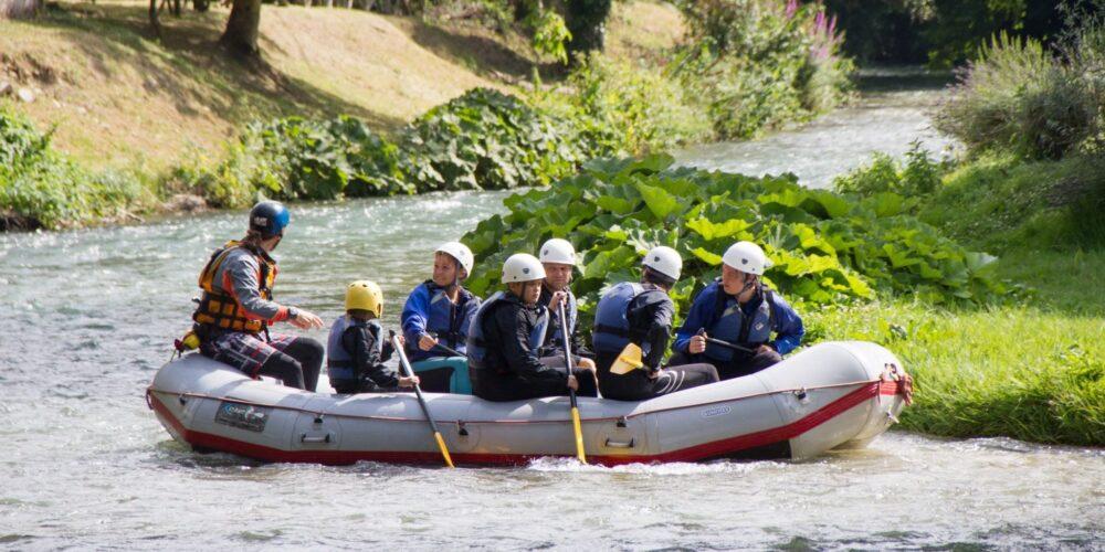 Rafting in Umbria per tutta la famiglia