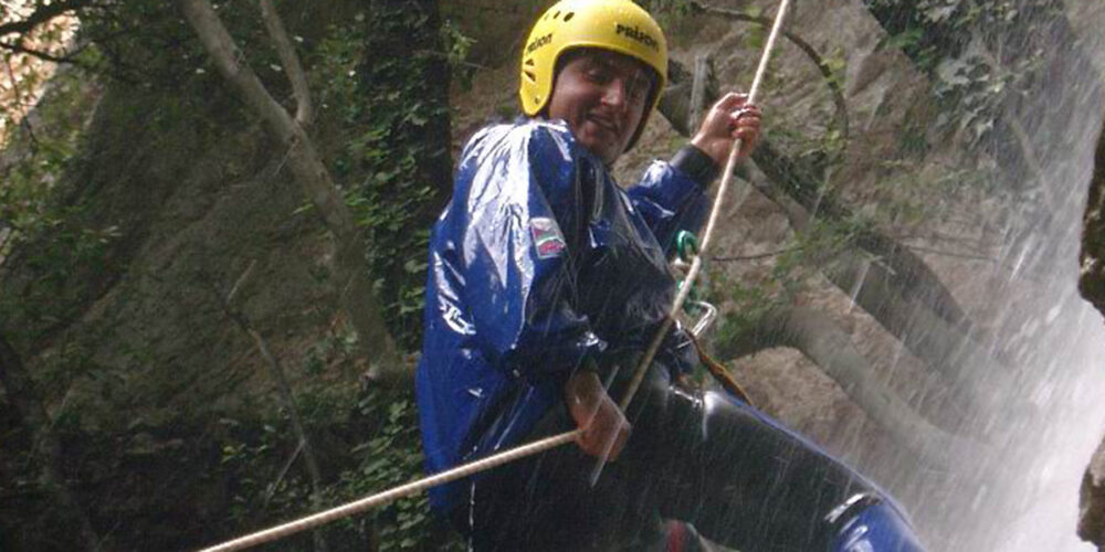 canyoning e torrentismo in Umbria